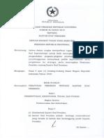 Perpres Nomor 26 Tahun 2015 Kantor Staf Presiden