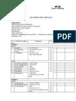 Planificare Anuala Manual Engleza Clasa III Fairyland 3AB