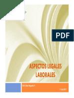 Aspectos Legales Laborales