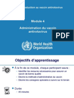 Administration Du Vaccin Antirotavirus