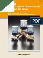 Kelmo Electric Actuator Driven Ball Valves