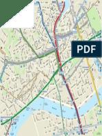 Plan Du Centre-Ville de Nantes 2014-2015