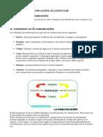 Signo, Comunicación y Lenguaje.
