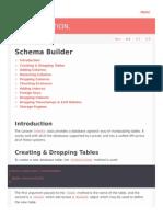Laravel Schema Builder