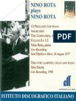 Nino Rota Booklet