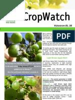 Adelaide Hills Crop Watch 290110