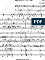 Amor Que Viene Cantando.partitura de Orquesta