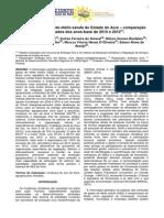 Inventário de gases de efeito estufa do Estado do Acre  –  comparação de resultados dos anos-base de 2010 e 2012