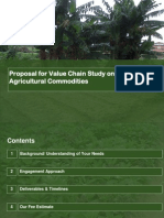 Agric Value Chain Proposal