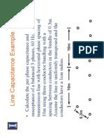 Capacitance Example - ACSR - Etc