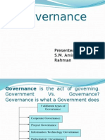 Governance idea