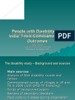 India Disability w Shop Pp t