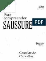 CARVALHO, C. Para Compreender Saussure. p. 17-25