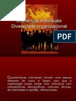 Cap 1 Diferenças Individuais e Gestão da Diversidade.ppt