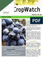 Adelaide Hills Crop Watch 120310