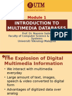 Moditroduction multimedia database