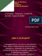 Hospital Funciones - Unidad Del Paciente.
