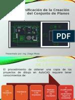 autocad 2D 2013 Creación de Conjunto de Planos