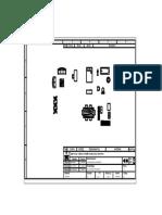 Bloque de Plano de casa en autocad 2D
