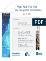 Web_Panel Gene Therapies for Rare Diseases May 6 2015