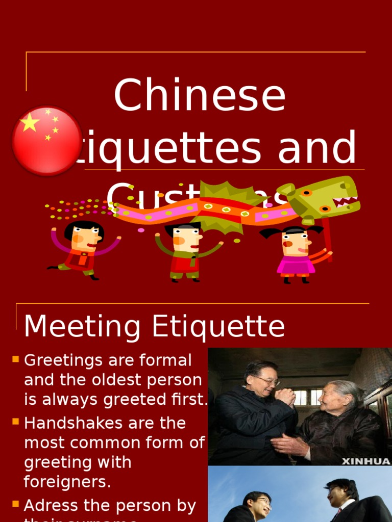 Facts About China Wedding Social Conventions
