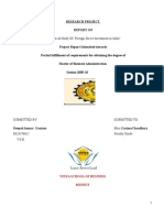 52567339 Final Project on Fdi in India