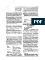 Resolución Directoral N°4012-2009-MTC-15