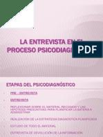 1. u II. La Entrevista en El Proceso Psicodiagnóstico