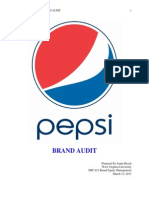Pepsi Brand Audit