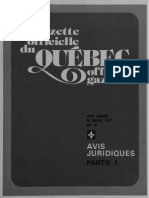 gazette officielle QUEBEC . official V5^/ga*ett e