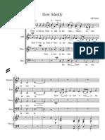 How Silently - for mixed choir