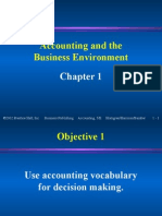 Chapter 1- The Language of Business