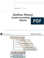 1_Define - Understanding Six Sigma