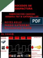 Mapa Conceptual Fabricacion Camion 797b Caterpillar
