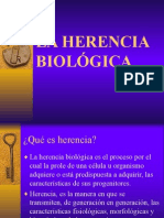 Herencia biologica