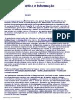 TEXTO 7 Bioética e Informação