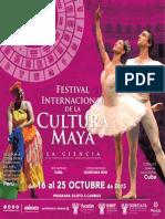 Programa del Festival Internacional de la Cultura Maya 2015