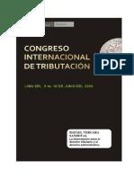 Congreso Internacional de Tributación