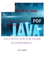 Java With Xoh for Exams