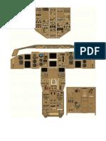 B767 Cockpit Overview