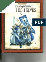 Uniforms & Heraldry of the High Elves
