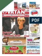 Yeni Vatan Weekly Turkish Newspaper August 2015 Issue 1814