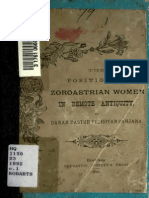 The Position of Zoroastrian Women in Remote Antiquity - Dastur Sanjana 1892