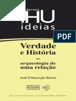 Verdade e História - arqueologia de uma relação