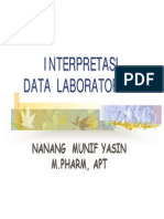 Intrepretasi Data