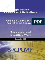 SACMCMP Registration Policy and Guidelines