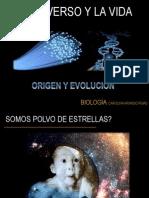 Origen y Evolucion Del Universo y La Vida
