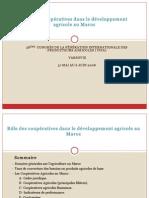 Le Role Des Coopératives Dans Le Développement Au Maroc