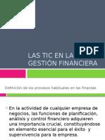 La TIC en Gestión Financiera