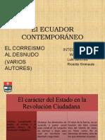 El Ecuador Contemporaneo